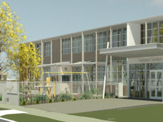 Brooklyn Park Campus Lipsett Terrace Concept