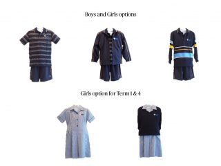 Junior Summer Uniforms Term 1 & 4