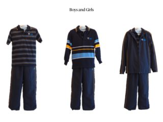 Junior 'Winter' Uniform option can be worn all year