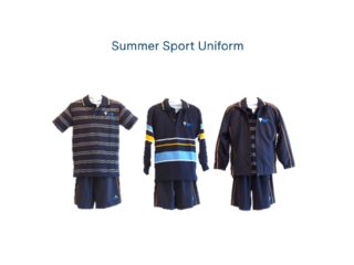 Middle School Summer Sports Uniforms