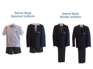 Senior School Boys Uniform
