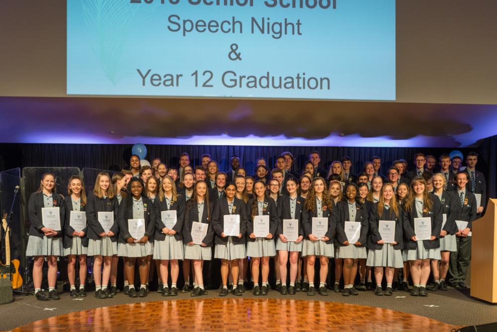 Senior Students Singing